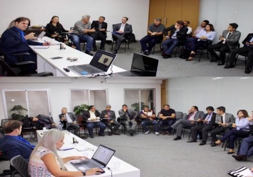 Diretoria da Afojus/Fojebra se Reúne em Brasília